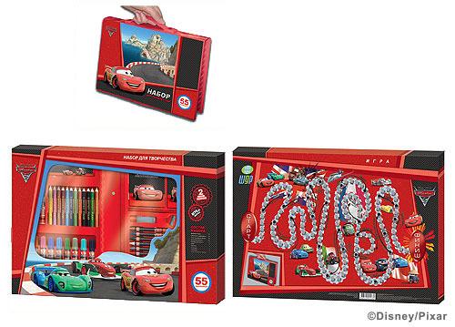 Набор подарочный Disney Тачки 2 55пр. купить оптом и в розницу