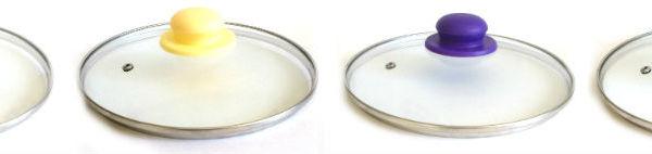 Крышка стеклянная 20 см с пароотводом купить оптом и в розницу