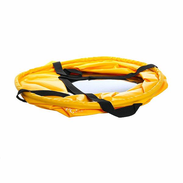 Ведро складное 20л, d30см, h30см, цвет желтый купить оптом и в розницу