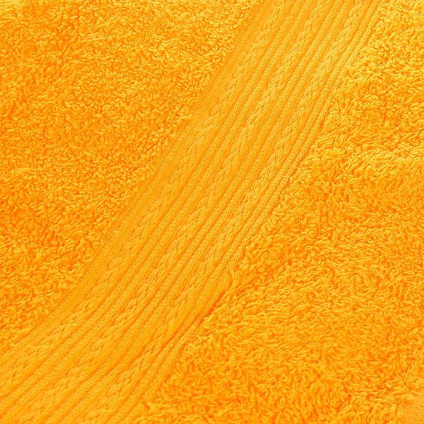 Махровое полотенце 50*90см желтое ЭК90 Д01 купить оптом и в розницу