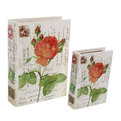 Шкатулка ″Carte postale Розы″ (набор 2шт) дерево XXE9158-4 купить оптом и в розницу