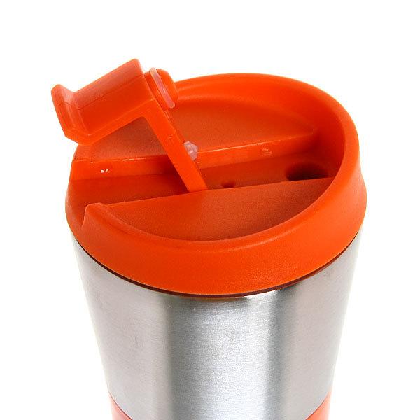 Термокружка 450 мл оранжевая конус купить оптом и в розницу