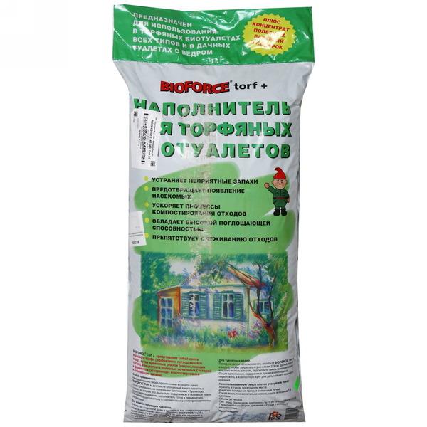 Наполнитель для торфяных туалетов BIOFORCE Torf + 30л купить оптом и в розницу