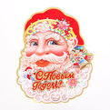 Плакат новогодний 50 см Дед Мороз С Новым Годом! купить оптом и в розницу