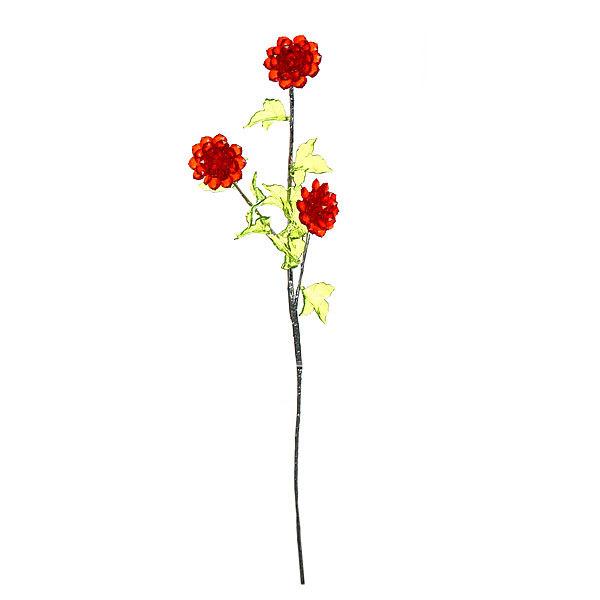 Цветок искусственный 60см лекоративный Хризантема из акрила купить оптом и в розницу