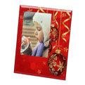 Фоторамка из стекла ″Новогоднее настроение″ 10х15см красная купить оптом и в розницу