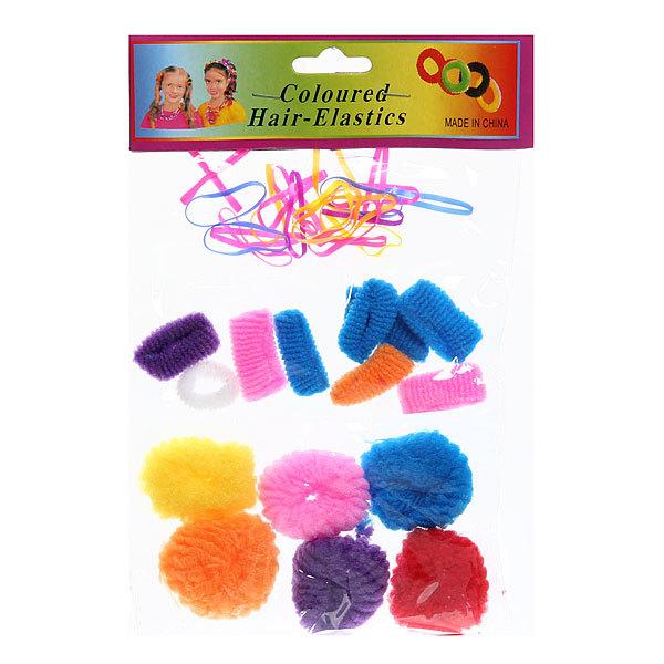 Резинка для волос 40шт 430-1 купить оптом и в розницу