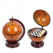 Глобус-шахматы настольный d=33 см 38*33*48см 47034 купить оптом и в розницу