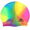 Шапочка для плавания силиконовая Sportage Multicolor купить оптом и в розницу