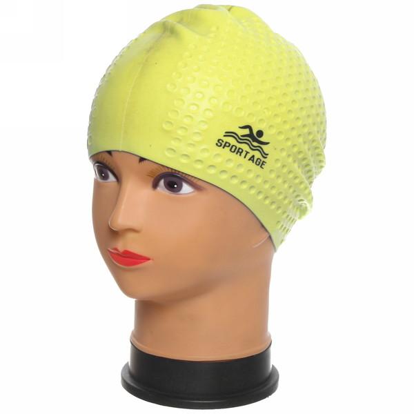 Шапочка для плавания силиконовая Sportage Woman купить оптом и в розницу