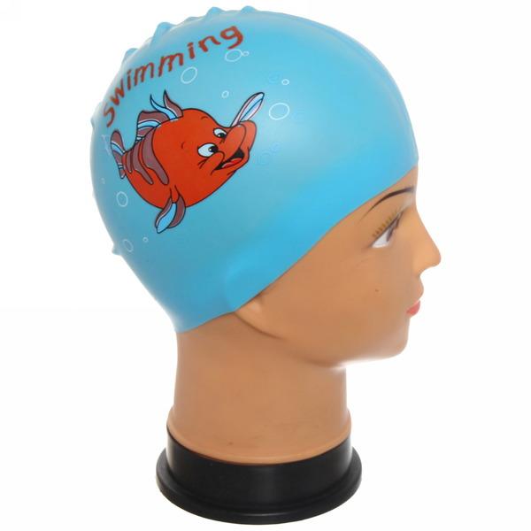 Шапочка для плавания детская Утята купить оптом и в розницу