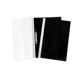 Папка скоросшиватель А4 черная 04601 Hatber купить оптом и в розницу