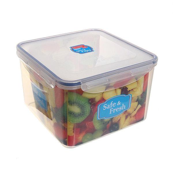Контейнер пластиковый пищевой ″Safe&Fresh″ 3,7л, герметичный SF4-2 купить оптом и в розницу