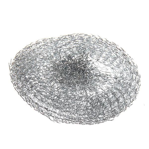 Губка для посуды металлическая 16 гр., 3 шт. Селфи купить оптом и в розницу