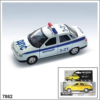 Модель ЛАДА 2110 Милиция 7862 1:34/39 купить оптом и в розницу