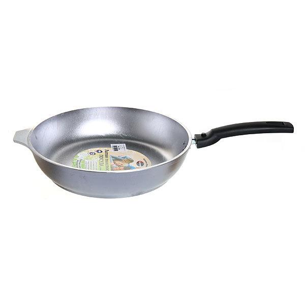 Сковорода 26 см литой алюминий со съемной ручкой КМ-с263 купить оптом и в розницу