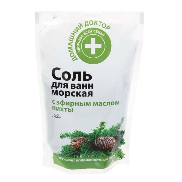 Соль для ванн саше с экстрактом Пихты Эльфа ДД 500гр купить оптом и в розницу