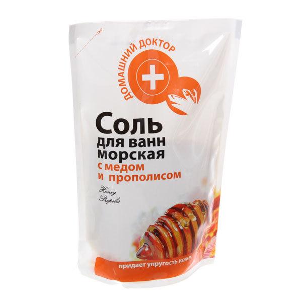 Соль для ванн саше с медом и прополисом Эльфа ДД 500гр купить оптом и в розницу