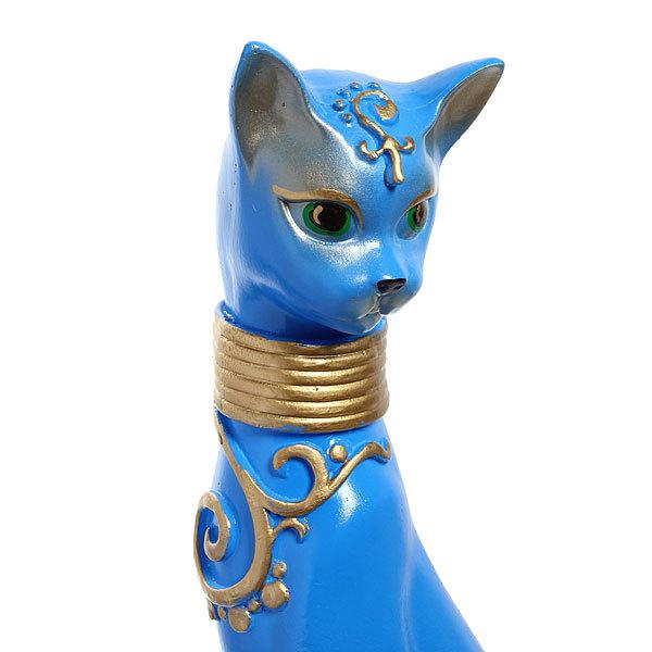 Статуэтка из гипса ″Кошка Грация (синяя) ,51см. купить оптом и в розницу
