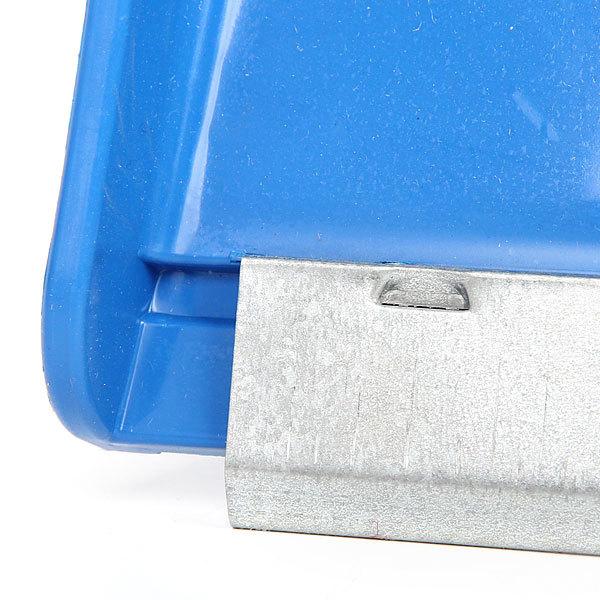 Лопата снеговая ,пластиковая с планкой 43х49 см купить оптом и в розницу