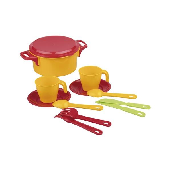 Набор детской посуды пл столовый 2 пр Хозяйка (Октябрьский)*20 купить оптом и в розницу