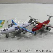 Самолет инерц. 599-4А в пак. купить оптом и в розницу