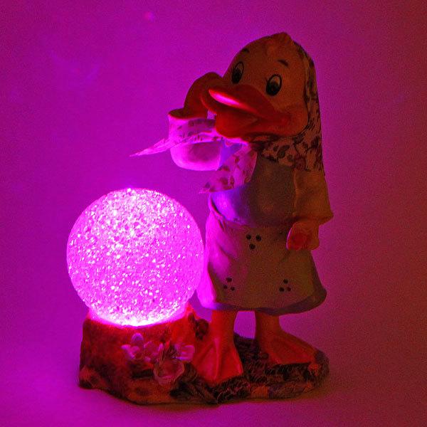 Фигурка из полистоуна ″Веселая уточка Поночка с шариком″ 17см купить оптом и в розницу