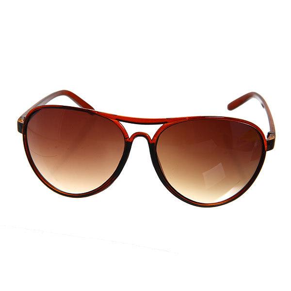 Очки солнцезащитные мужские ″Классика″, цвет коричневый купить оптом и в розницу