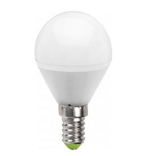 Лампа cветодиодная Navigator Standard NLL-P-G45-5-230-2.7K-E14 матов. шар,аналог 40Вт (10/100) купить оптом и в розницу