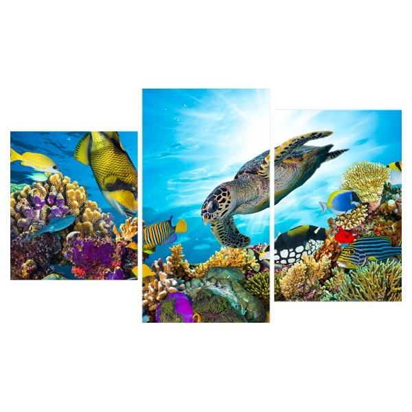 Картина модульная триптих 55*96 Море диз.2 36-01 купить оптом и в розницу