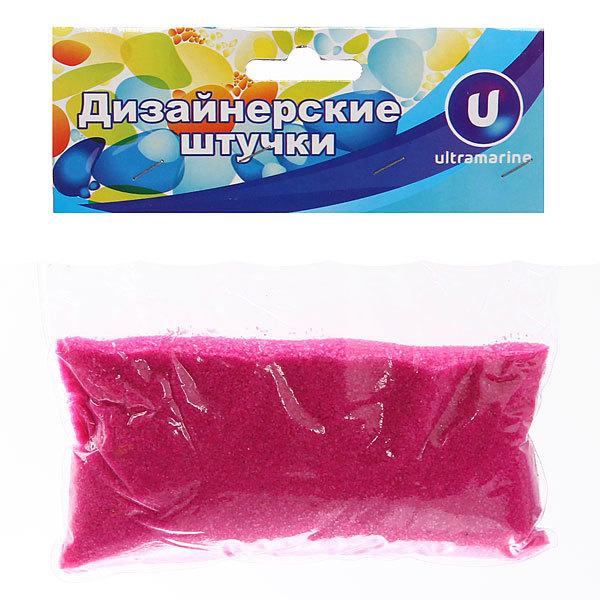Украшение декоративное песок для дизайна″ 200гр Фуксия А016 купить оптом и в розницу