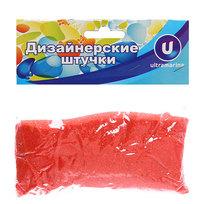 Украшение декоративное песок для дизайна″ 200гр Красный А017 купить оптом и в розницу