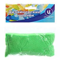 Украшение декоративное песок для дизайна″ 200гр Зеленый А003 купить оптом и в розницу