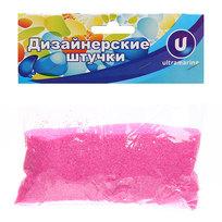 Украшение декоративное песок для дизайна″ 200гр Розовый А015 купить оптом и в розницу