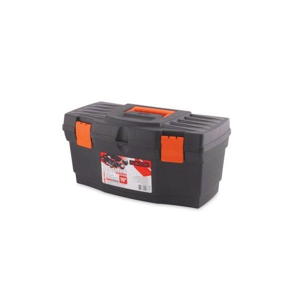 """Ящик для инструментов Master Economy 19"""" черный/оранжевый *7 купить оптом и в розницу"""