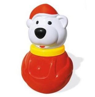 Неваляшка Белый медведь-2 мал. 01614 /12/ купить оптом и в розницу