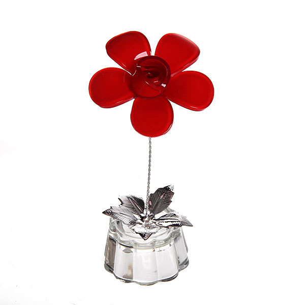 Фигурка из акрила ″Цветочек″ 10 см В001-28 купить оптом и в розницу