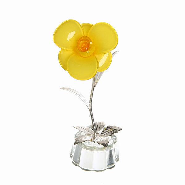 Фигурка из акрила ″Цветочек″ 12 см В001-35 купить оптом и в розницу
