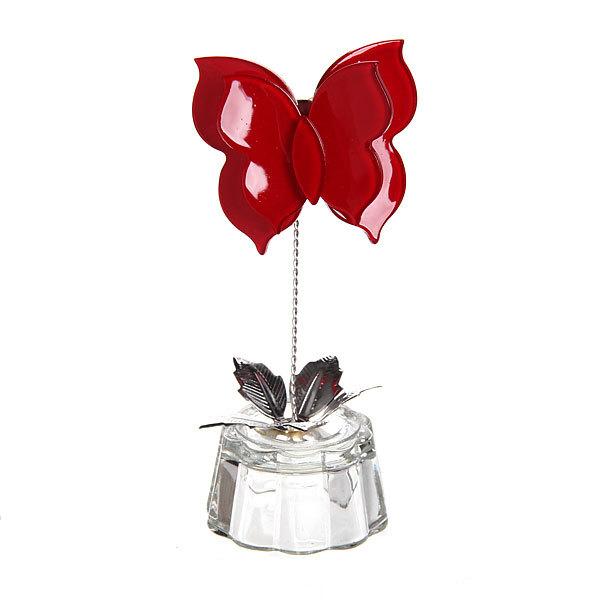Фигурка из акрила ″Бабочка красная″ 11,5 см купить оптом и в розницу
