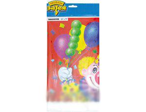 Скатерть Клоун с шарами 1502-0461 купить оптом и в розницу