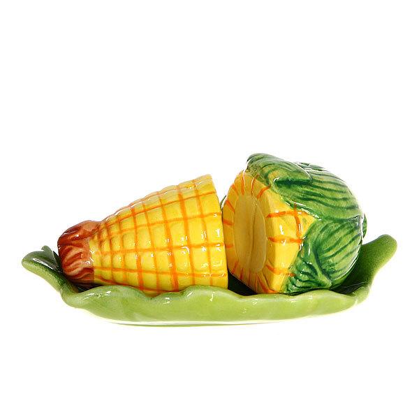 Набор для специй на подставке 2 шт ″Кукуруза″ купить оптом и в розницу