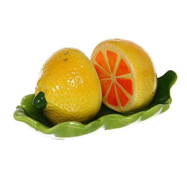 Набор для специй на подставке 2 шт ″Лимон-1″ купить оптом и в розницу