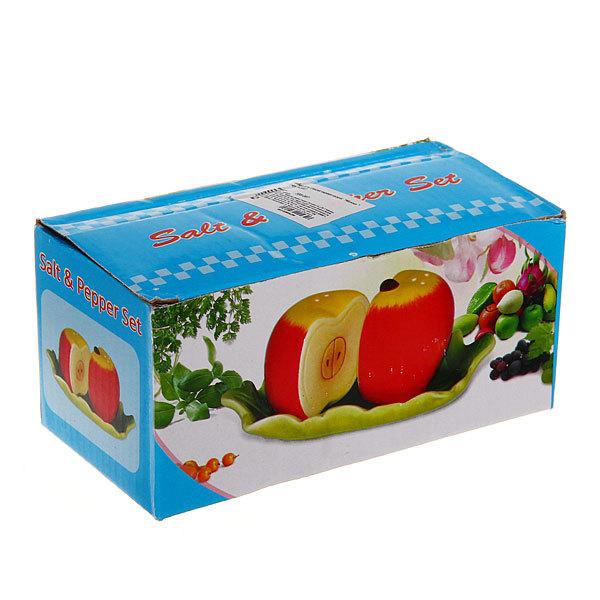 Набор для специй на подставке 2 шт ″Яблоко″ 1 купить оптом и в розницу