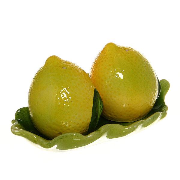 Набор для специй на подставке 2 шт ″Лимон-2 ″ 14J001 купить оптом и в розницу