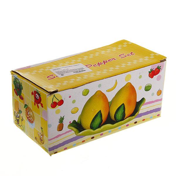 Набор для специй на подставке 2 шт ″Лимон-2 ″ купить оптом и в розницу