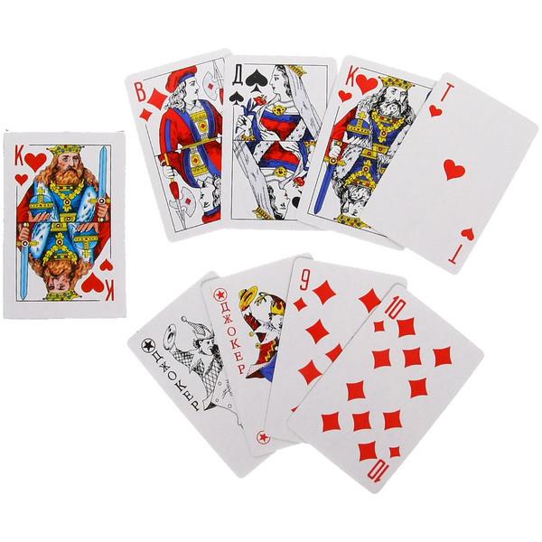 Карты игральные, 54 шт. купить оптом и в розницу