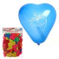 Воздушный шар 12″/30см (набор 100штук) в виде сердца ″С любовью!″,латекс купить оптом и в розницу