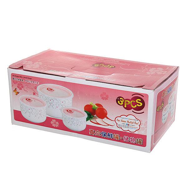 Набор салатников керамических 3шт с крышками ″Чайная роза″ 200,400,800мл купить оптом и в розницу
