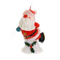 Свеча Новогодняя ″Дед Мороз″ 12*6см купить оптом и в розницу