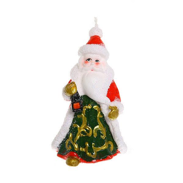 Свеча Новогодняя ″Дед Мороз″ 11*6 см купить оптом и в розницу